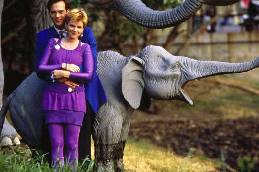 Anthony Edwards et Mare Winningham dans le film américain deSteve De Jarnatt, «Miracle Mile» (1988).