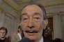 Le peintre Salvador Dali à Paris en mai 1973.