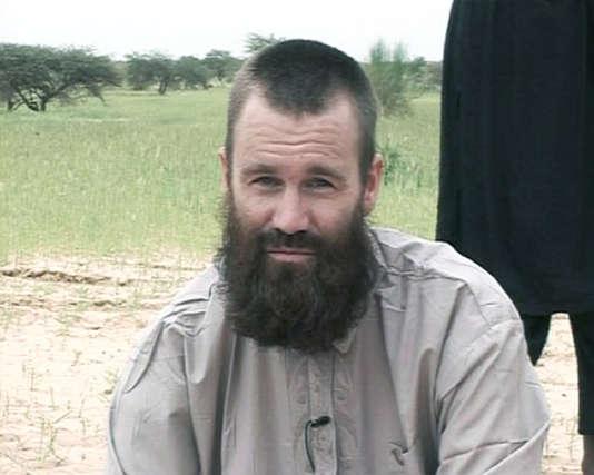 Johan Gustafsson, dans une image diffusée, le 21 août 2012, par la chaîne de télévision Al-Jazeera.
