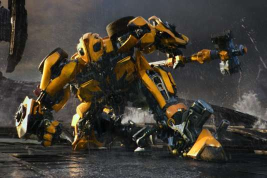 Une scène du film américain deMichael Bay,«Transformers : The Last Knight».