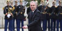 François de Rugy le jour de la prise de fonctions d'Emmanuel Macron à l'Elysée le 14 mai.