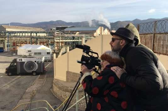 Agnès Varda et JR dans le documentaire «Visages Villages».