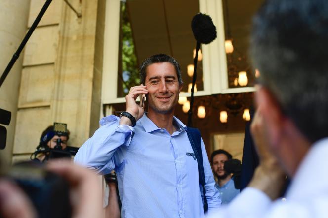 Le député François Ruffin et réalisateur de « Merci Patron», à l'Assemblée nationale (Paris), le 20 juin.