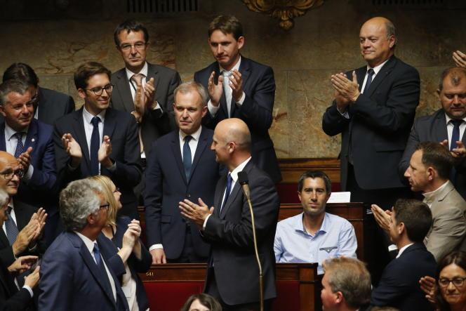 François de Rugy, nouveau président de l'Assemblée nationale, le 27 juin.