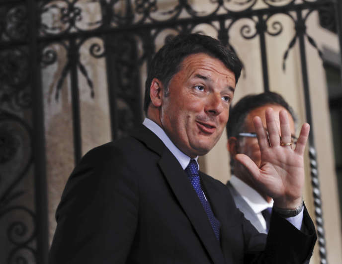 Matteo Renzi, à Milan, le 27 juin.