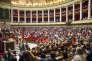 Première séance de la XVe législature à l'Assemblée nationale à Paris, le 27 juin.