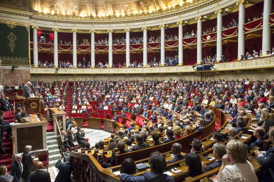 Séance inaugurale de la XVelégislature à l'Assemblée nationale, mardi27 juin.