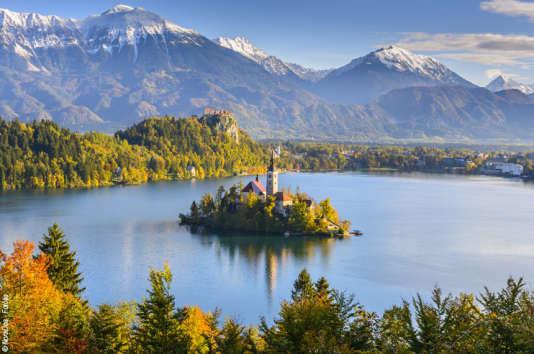 Le lac de montagne de Bled est l'un des plus beaux de Slovénie.