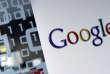 Le logo Google à son siège à Bruxelles.