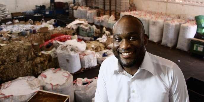 Patron et fondateur d'Africa Global Recycling, Edem d'Almeida a fait ses classes en France, chez Suez Environnement.