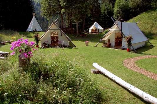 Pour ceux qui voyagent en groupe, le camp est entièrement privatisable.