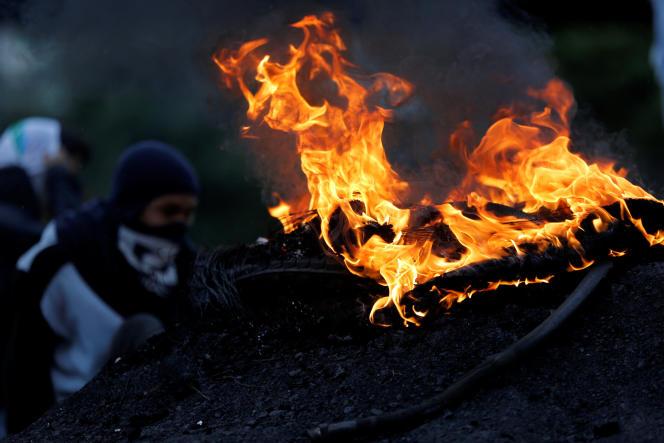 Manifestations contre le gouvernement du président Nicolas Maduro, le 28 juin.