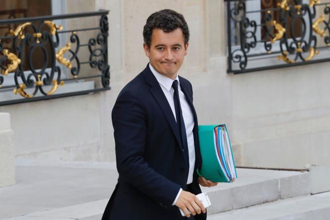 Gérald Darmanin, ministre de l'action et des comptes publics, à l'Elysée, le 28 juin.