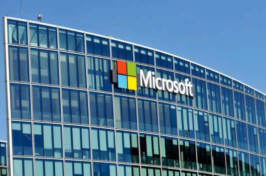 Le siège de Microsoft France à Issy-les-Moulineaux, près de Paris.
