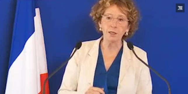 Muriel Pénicaud, lors de sa conférence de presse donnée le 28 juin 2017.
