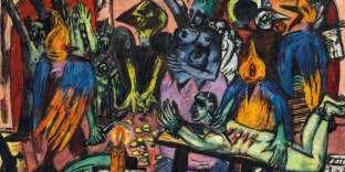 « L'Enfer des oiseaux» («Hölle der Vögel», 1937-1938), de Max Beckmann (1884-1950), huile sur toile.