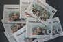 """Des éditions de l'hebdomdaire allemand """"Sueddeutsche Zeitung"""" consacrées au scandale des « Panama Papers» en avril 2016."""