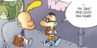 Une image extraite d'« A fond le slip ! », de Zep.