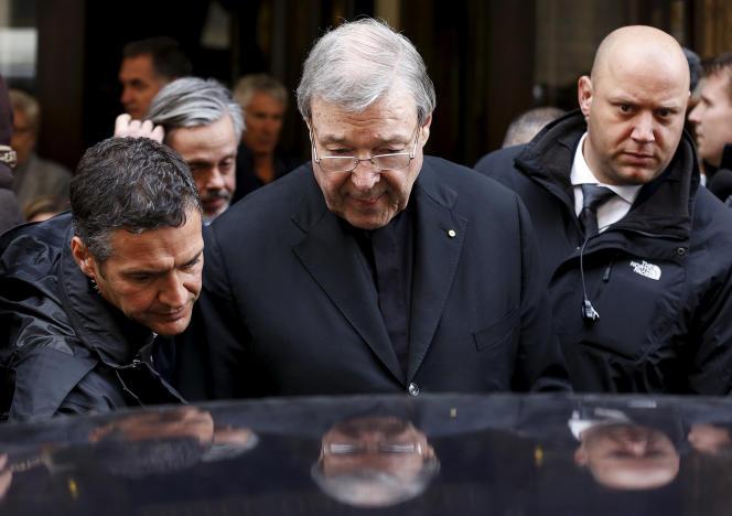 Le cardinal australien George Pell à Rome (Italie), le 3 mars 2016.