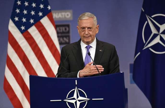 A Bruxelles, le jeudi29 juin, le secrétaire américain à la défense, James Mattis, a affiché sa satisfaction.