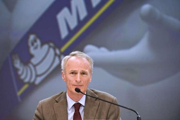 Jean-Dominique Senard, le président de Michelin, en mai 2016.