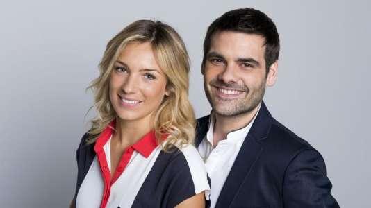 Clémentine Sarlat et Matthieu Lartot, nouveaux présentateurs de« Stade 2».