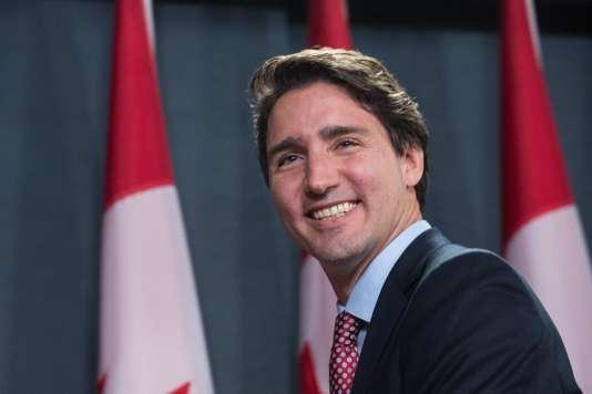 Dans le sillage du premier ministre canadien, Justin Trudeau – ici le20octobre2015–,une nouvelle génération arrive au pouvoir, qui voit l'histoire du pays de manière plus critique.