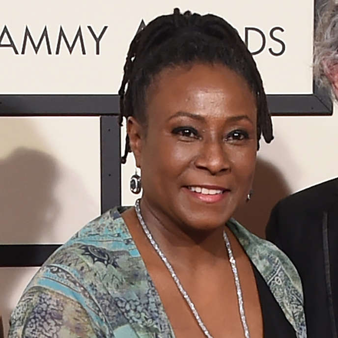 La pianiste de jazz Geri Allen lors des 58es Grammy Awards, à Los Angeles (Californie), le 15 février 2016.