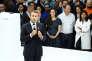 «Ce n'est pas en introduisant dans le droit de notre pays les principales dispositions qui accompagnent l'état d'urgence que vous vaincrez les fureurs sacrées du terrorisme radical» (Photo: le président Macron, le 29 juin, à Paris).