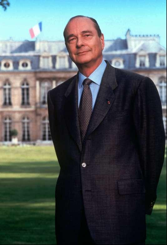 Jacques Chirac, par Bettina Rheims.