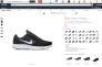 Chaussures de marque Nike proposées à la vente sur le site Amazon.com mais commercialisées par d'autres vendeurs que Nike.