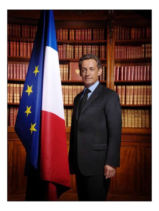 Nicolas Sarkozy, par Philippe Warrin.