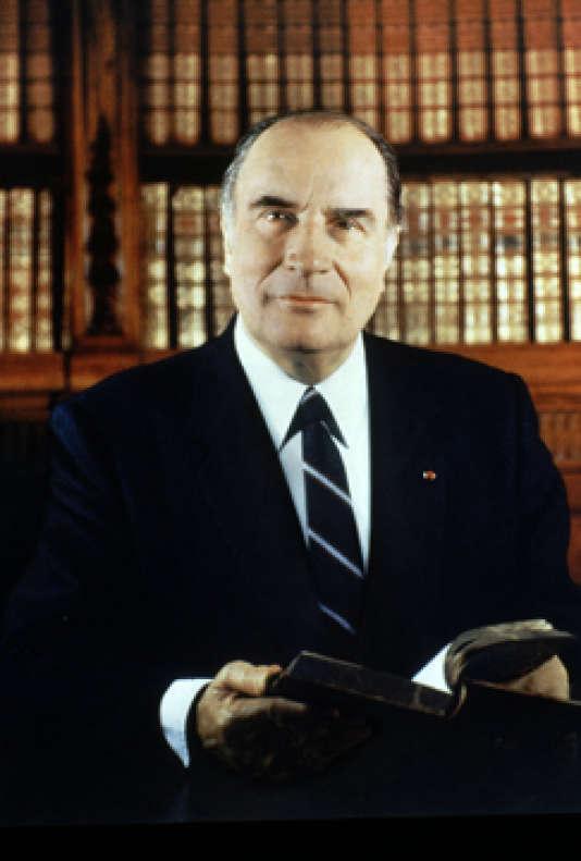 François Mitterand, en 1981, par Gisele Freund.
