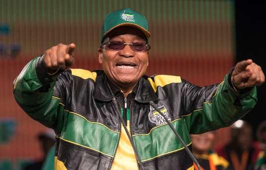 Jacob Zuma, chef du Congrès national africain (ANC) et actuel président sud-africain