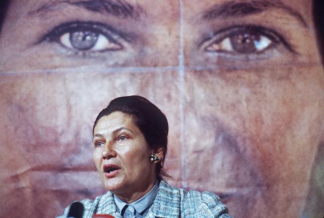 En 1979 pendant la campagne pour les élections européennes.