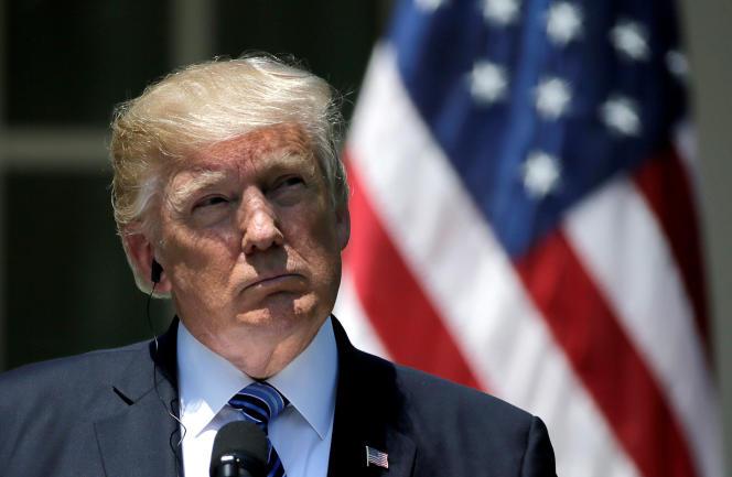 Donal Trump à Washington, le 30 juin.