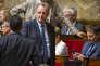 Richard Ferrand participe à la première séance de la XVe législature à l'Assemblée nationale à Paris, le 27 juin.
