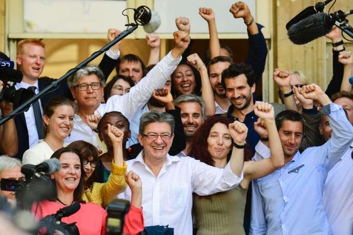 Jean-Luc Mélenchon, président du groupe La France insoumise à l'Assemblée nationale, le 20 juin.