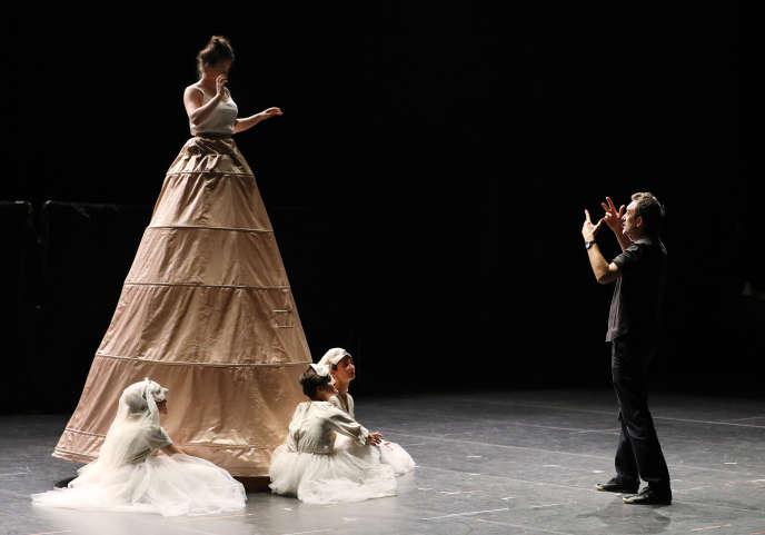 Répétition de«Pinocchio» du compositeur Philippe Boesmans, Opéra sur un livret de Joel Pommerat