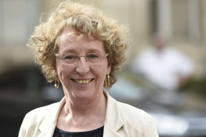 Muriel Pénicaud, la ministre du travail, le 17 mai à Paris.