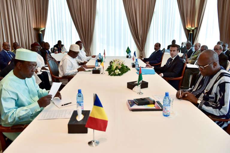 Le 2 juillet à Bamako, au Mali, les chef d'Etat des pays du G5 Sahel (Mauritanie, Mali, Burkina Faso, Niger et Tchad) se réunissaient en présence du président français Emmanuel Macron.