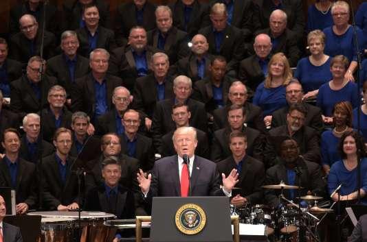 Donald Trump à Washington, le 1er juillet.