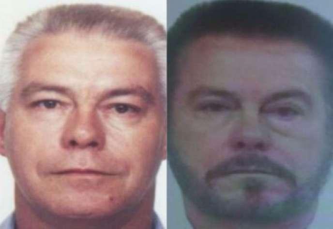 Luiz Carlos da Rocha, avant et après les opérations chirurgicales.