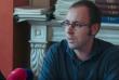 Guillaume Vadot, lors de sa première conférence de presse, le 26 septembre 2016.