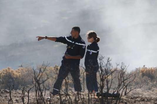 Emilie Dequenne et Roschdy Zem dans « Les hommes du feu».