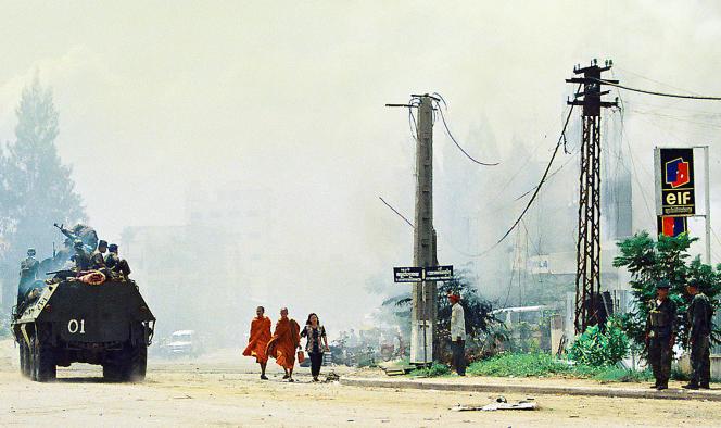 A Phnom Penh, le 7 juillet 1997.