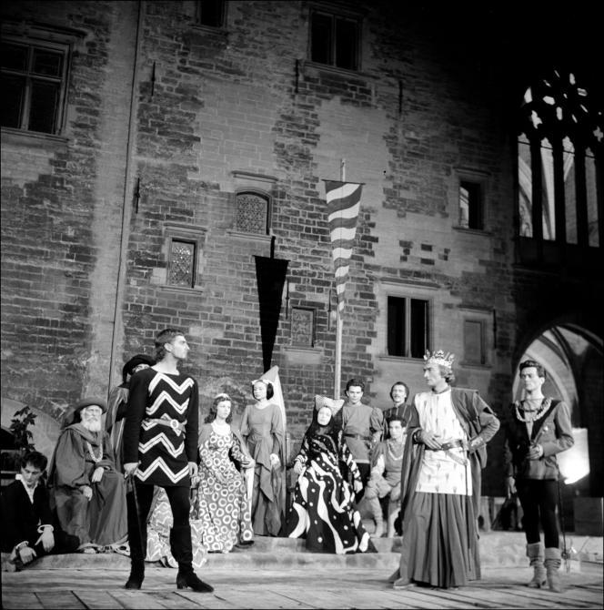 « La Tragédie du roi Richard II », mise en scène par Jean Vilar d'après William Shakespeare, en 1947