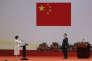 La nouvelle chef de l'exécutif de Hongkong, Carrie Lam et le président chinois Xi Jinping, le 1er juillet à Hongkong.