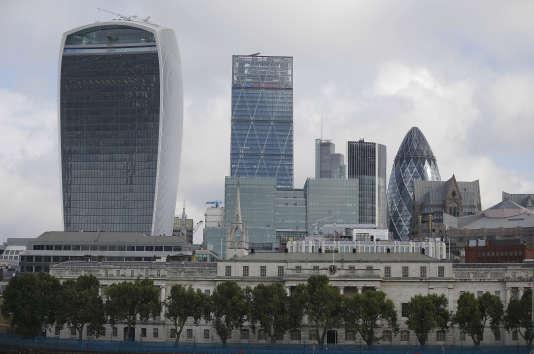 La City de Londres, en 2015.