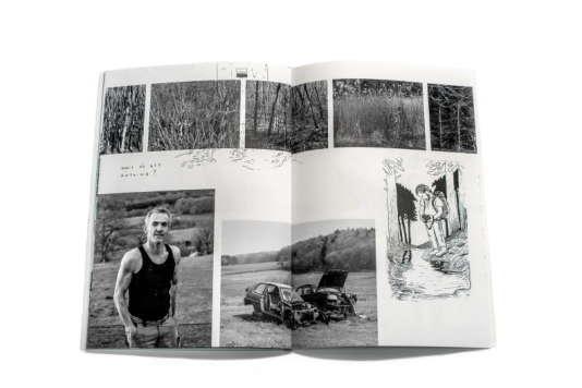 Extrait du #A, premier carnet photographique du projet Azimut.